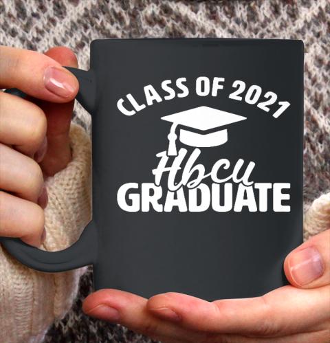 HBCU Alumni Apparel Class Of 2021 HBCU Grad Ceramic Mug 11oz