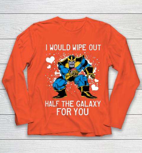 Marvel Thanos Half The Galaxy Valentine Graphic Youth Long Sleeve 3