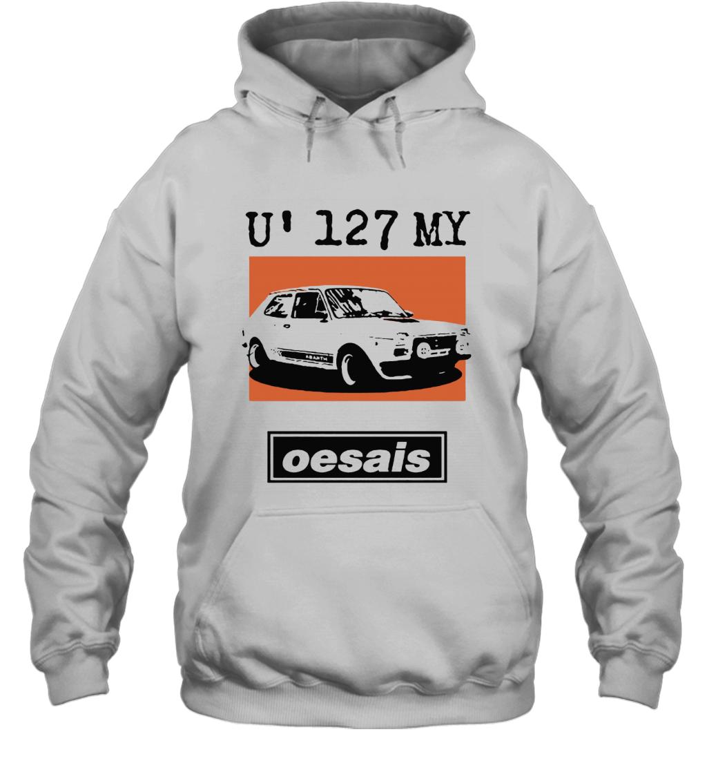U 127 My Oesais 127 Abarth Car Oesais Hoodie