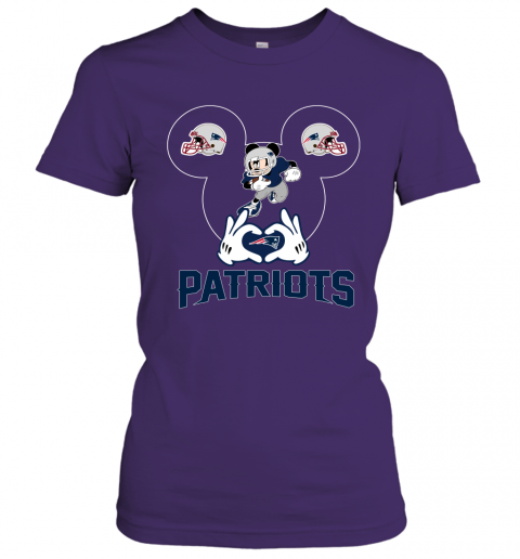 ttdd i love the patriots mickey mouse new england patriots ladies t shirt 20 front purple
