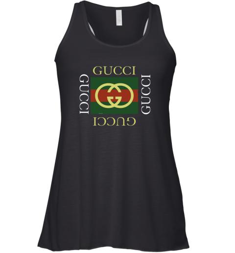 Gucci Logo Gift Womens Racerback Tank Top