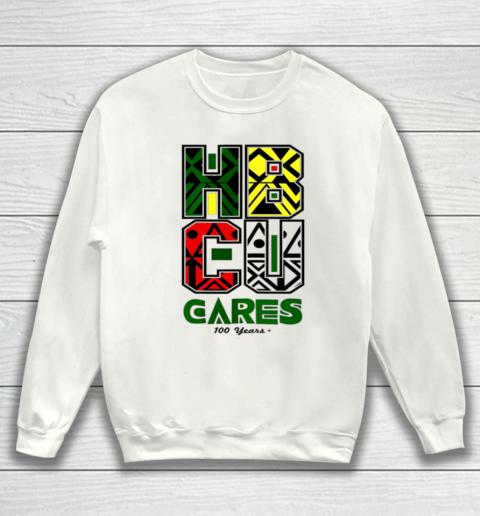 HBCU Cares College University Graduation Gift Black Schools Sweatshirt