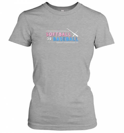 01ct softball or baseball shirt sports gender reveal ladies t shirt 20 front ash