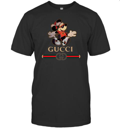 Gucci Mickey Fashion Stylelist Music Mens T-Shirt