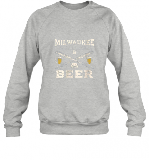 zmgw love milwaukee love baseball sweatshirt 35 front sport grey