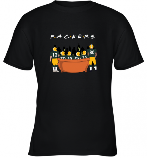 The Green Bay Packers Together F.R.I.E.N.D.S NFL Youth T-Shirt