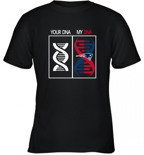 My DNA Is The New England Patriots Football NFL Youth T-Shirt
