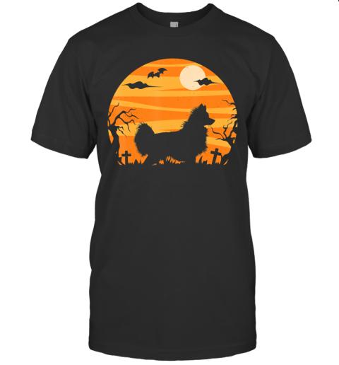 Papillon Dog Halloween,  Costume Funny Gift Mom Dad T-Shirt