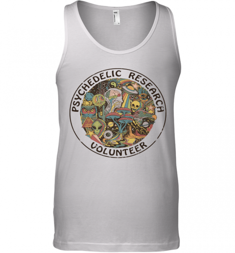 Psychedelic Research Volunteer Ringer Tank Top