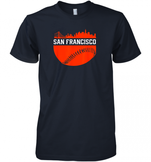 y3nv san francisco baseball vintage sf the city skyline gift premium guys tee 5 front midnight navy