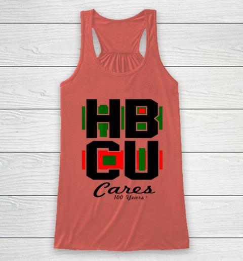 HBCU Cares College University Graduation Gift Black School Racerback Tank 2
