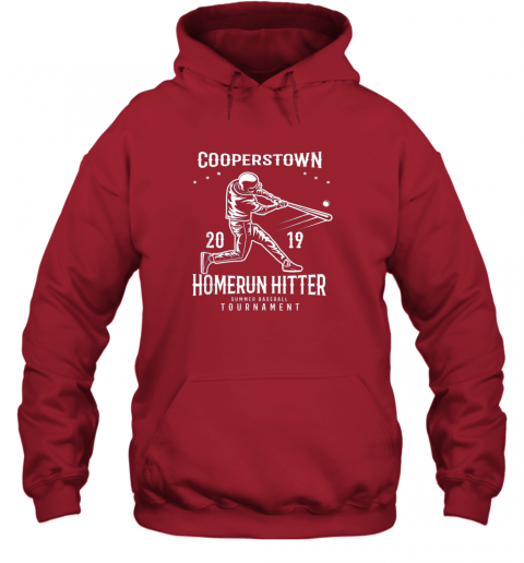 orvr cooperstown home run hitter hoodie 23 front red