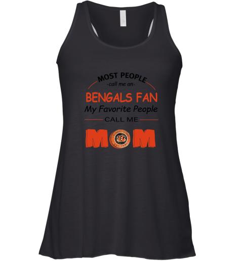 q4qh most people call me cincinnati bengals fan football mom flowy tank 32 front black