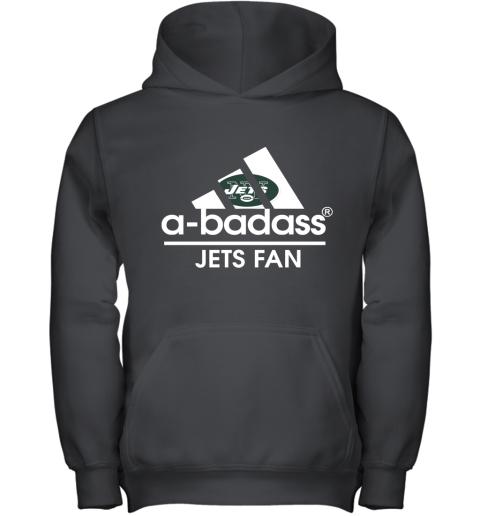 A Badass New York Jets Mashup Adidas NFL Youth Hoodie