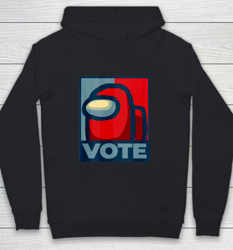 Who is the Impostor neu Among with us start the vote Youth Hoodie