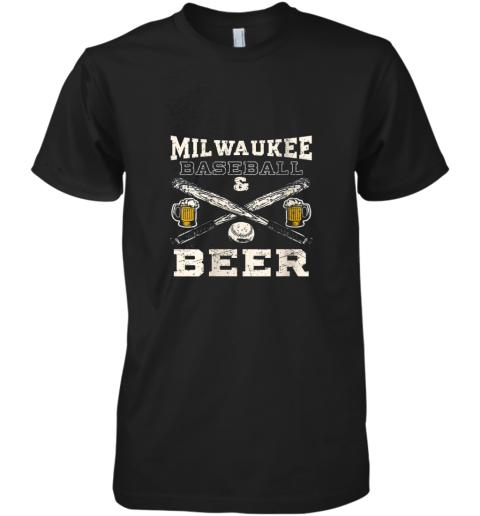 Love Milwaukee Love Baseball Premium Men's T-Shirt