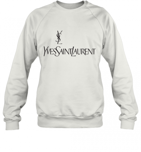 Ysl Yves Saint Laurent Logo Sweatshirt