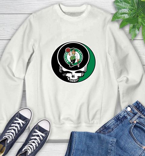 Boston Celtics Nba Basketball Grateful Dead Rock Band Music Sweatshirt