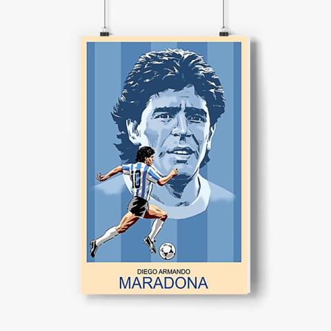 Diego Armando MARADONA Poster