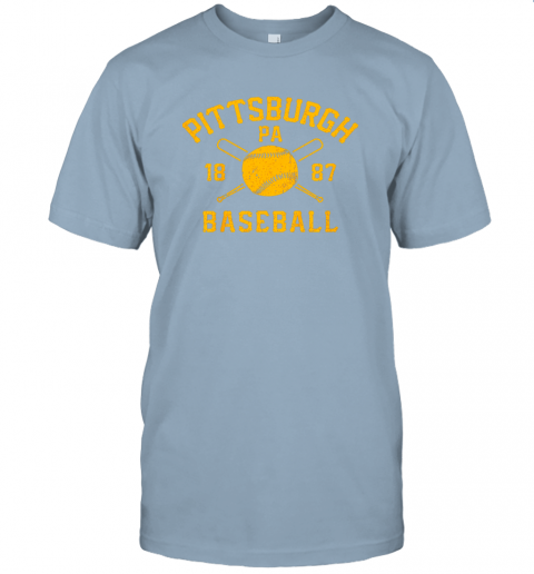 nzh7 vintage pittsburgh baseball pennsylvania pirate retro gift jersey t shirt 60 front light blue