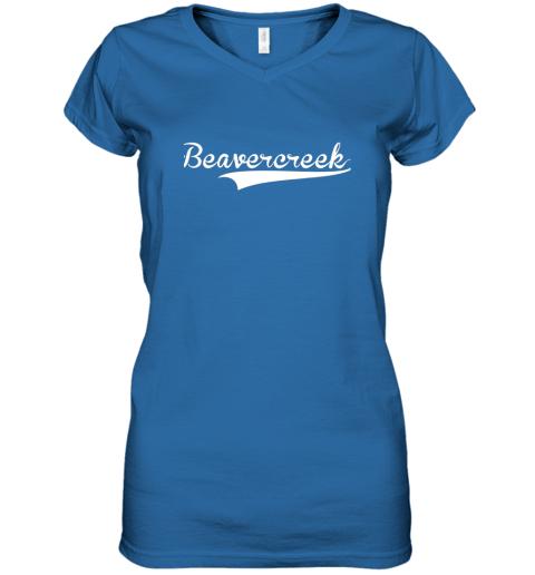 c0yn beavercreek baseball styled jersey shirt softball women v neck t shirt 39 front royal