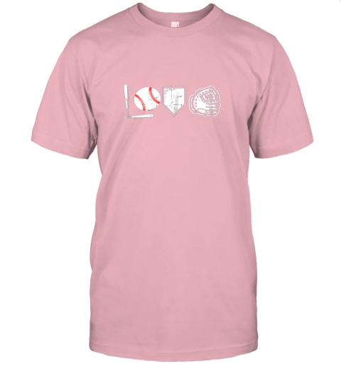 aukp i love baseball baseball heart jersey t shirt 60 front pink