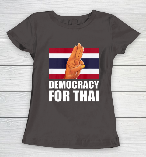 Democracy for Thailand Free Thai Protest Bangkok Support Women's T-Shirt 7
