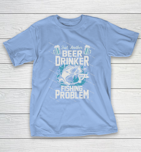 Beer Lover Funny Shirt Fishing ANd Beer T-Shirt 10