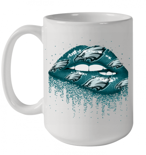Sexy Lips Philadelphia Eagles NFL Ceramic Mug 15oz