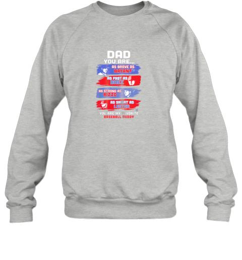 gmqh javier baez baseball buddy shirtapparel sweatshirt 35 front sport grey