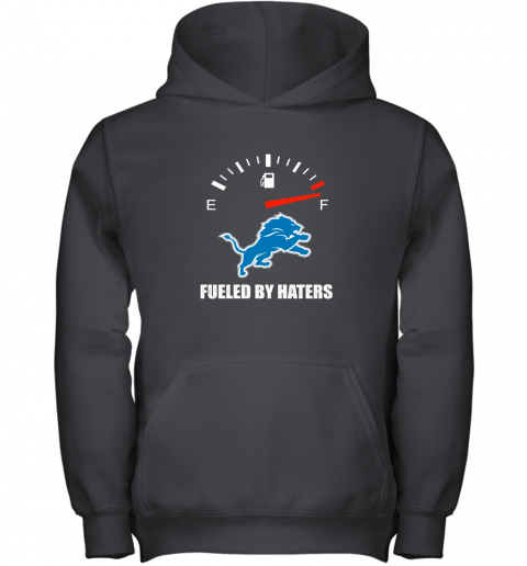 Fueled By Haters Maximum Fuel Detroit Lions Youth Hoodie