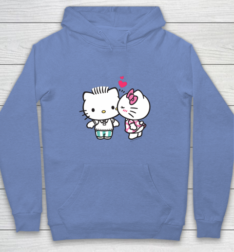 Hello Kitty and Dear Daniel Valentine Tee Youth Hoodie 8