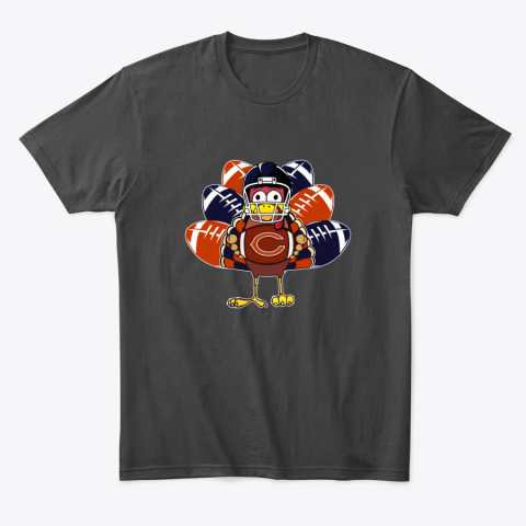 Chicago Bears  Thanksgiving Turkey Football NFL T-Shirt