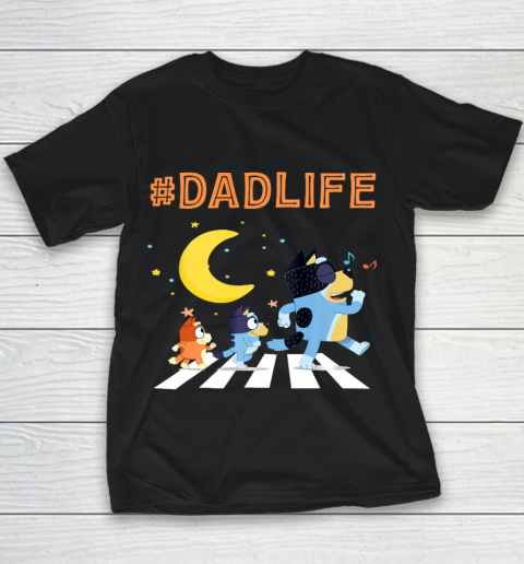 Bluey Dad Family Lover In My Life Youth T-Shirt