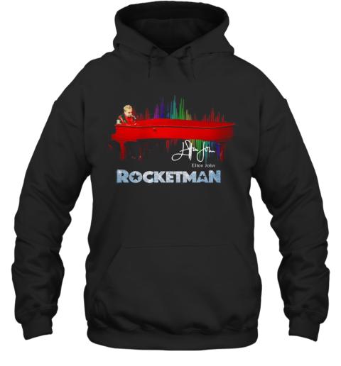 Rocketman Elton John Signature Hoodie
