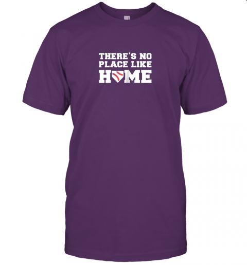 yrmz there39 s no place like home baseball shirt kids baseball tee jersey t shirt 60 front team purple