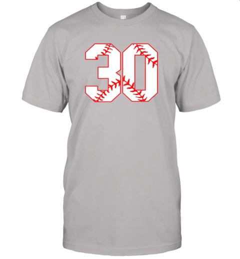 wezu thirtieth birthday party 30th baseball shirt born 1989 jersey t shirt 60 front ash