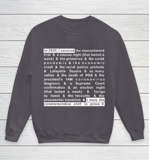 Jim Acosta Youth Sweatshirt 13