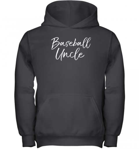 Baseball Uncle Shirt for Men Cool Baseball Uncle Youth Hoodie