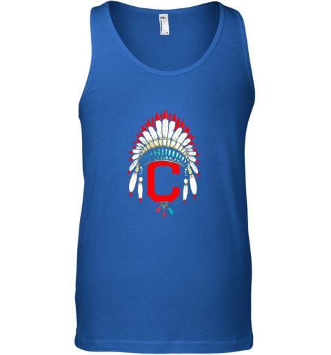 kv7l new cleveland hometown indian tribe vintage for baseball unisex tank 17 front royal