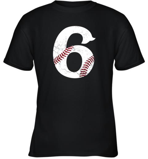 Kids Happy Birthday 6th 6 Year Old Baseball Gift Boys Girls 2013 Youth T-Shirt