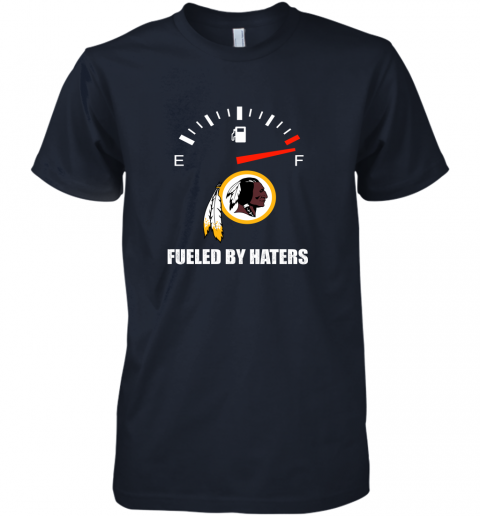 i7fh fueled by haters maximum fuel washington redskins premium guys tee 5 front midnight navy