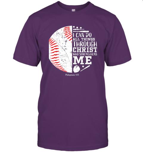 0pzj christian baseball shirts i can do all things through christ jersey t shirt 60 front team purple