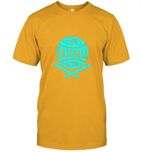 2zwo talk baseball to me groovy ball bat silhouette jersey t shirt 60 front gold