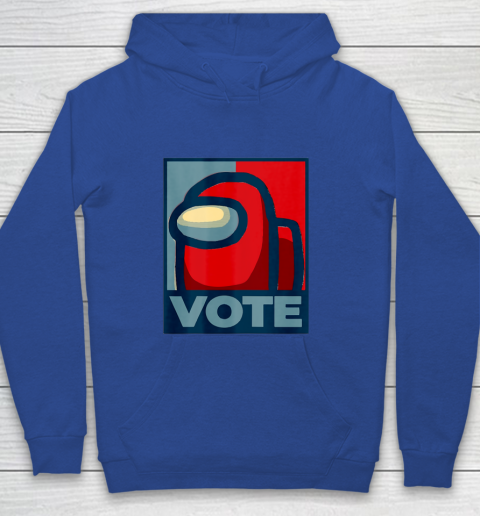 Who is the Impostor neu Among with us start the vote Youth Hoodie 8