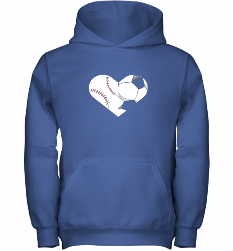 4to9 soccer baseball heart sports tee baseball soccer youth hoodie 43 front royal