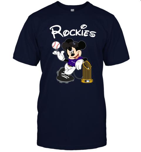 mlib colorado rockies mickey taking the trophy mlb 2019 jersey t shirt 60 front navy