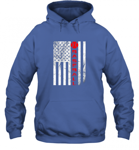 qac8 usa red whitevintage american flag baseball gift hoodie 23 front royal
