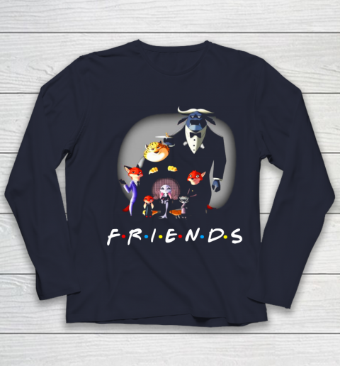 Zootopia characters F.r.i.e.n.d.s Youth Long Sleeve 2