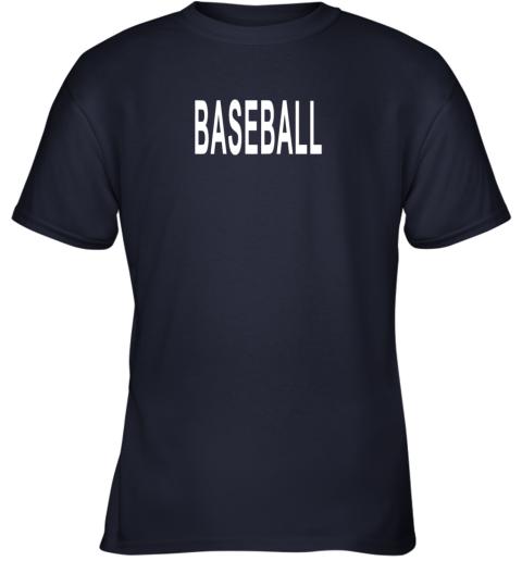 lgz3 shirt that says baseball youth t shirt 26 front navy